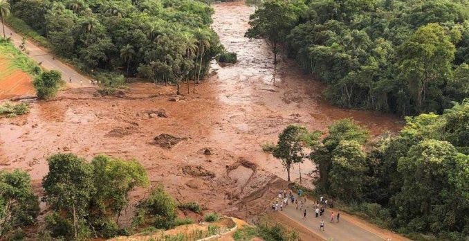 Tragédia em Brumadinho. Foto: Divulgação/CEMIG Barragem de Brumadinho