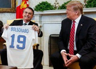 Bolsonaro e Trump. Foto: Divulgação/Planalto