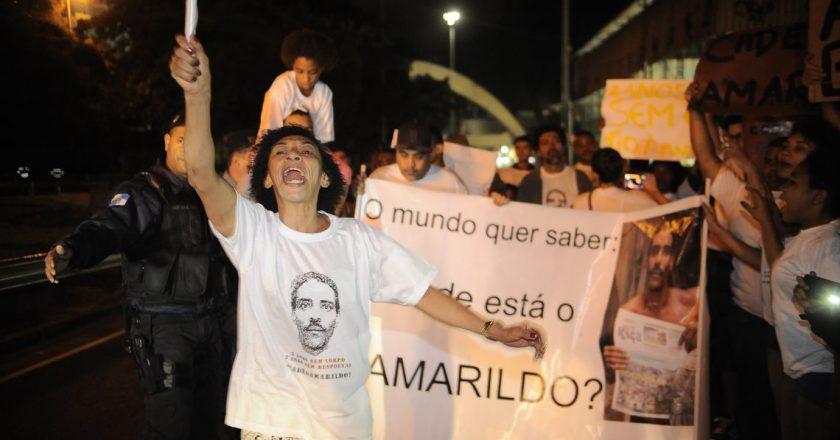 Viúva de Amarildo. Foto: Agência Brasil