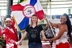 Bailarina Paula Gasparini vai comandar a comissão de frente da Estrela do Terceiro Milênio. Foto: Divulgação