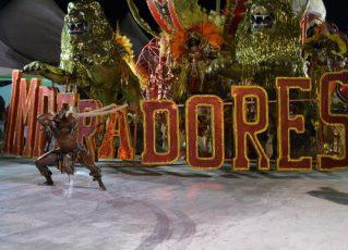 Escolas de samba fazem Carnaval em Porto Alegre depois de jejum de dois anos. Foto: Liane Oliveira/Beta Redação