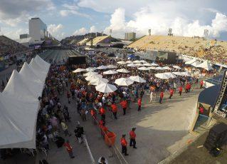 Apuração do Grupo Especial no Carnaval 2019. Foto: Fat Press