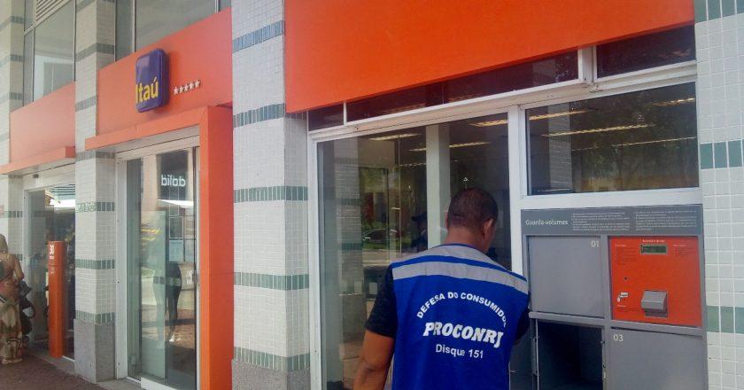 Procon Estadual autua agências do Itaú. Foto: Divulgação
