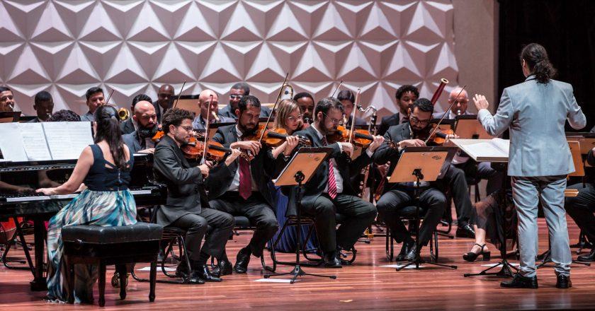 Orquestra de Solistas do Rio de Janeiro. Foto: Renato Mangolin