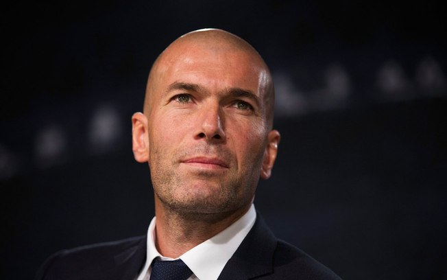 Zinedine Zidane. Foto: Reprodução/Twitter/Champions League