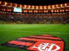 Escudo do Flamengo no Maracanã. Foto: Reprodução de Internet