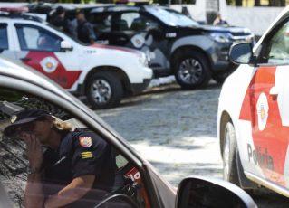 Viaturas da Polícia Militar. Foto: Rovena Rosa/Agência Brasil