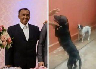 Edmilson Alves de Oliveira foi atacado pelos próprios pit bulls. Foto: Arquivo Pessoal
