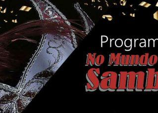 Programa No Mundo do Samba. Foto: Divulgação