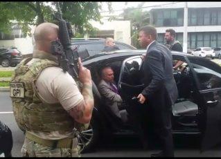 Michel Temer é preso. Foto: Reprodução de TV