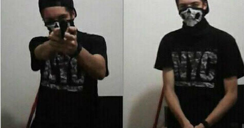 Assassino postou fotos com arma minutos antes do massacre em escola. Foto: Reprodução de Internet