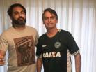 Léo Índio e Jair Bolsonaro. Foto: Reprodução/redes sociais