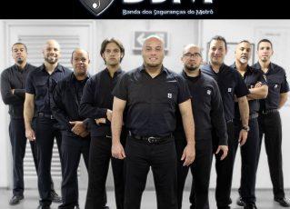 Banda dos Seguranças do Metrô. Foto: Divulgação