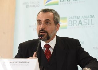 Ministro da Educação, Abraham Weintraub. Foto: Luís Fortes/MEC