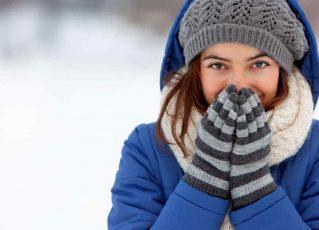 Mulher agasalhada no inverno. Foto: Reprodução de Internet