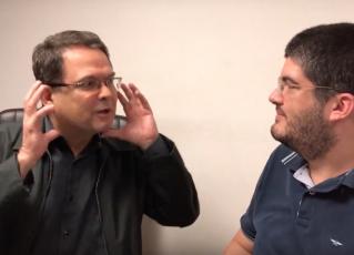 Sidney Rezende e Michel Menaei. Foto: Reprodução/Youtube