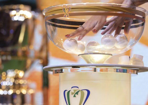 Sorteio da Copa do Brasil. Foto: CBF