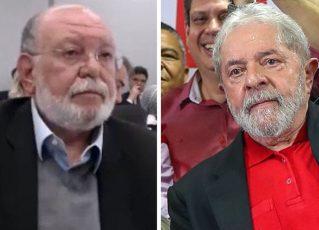 Léo Pinheiro e Lula. Foto: Reprodução