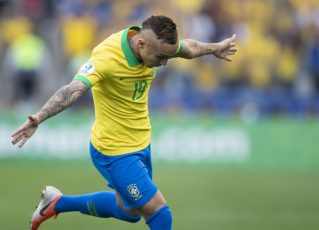 Everton Cebolinha. Foto: Lucas Figueiredo/CBF