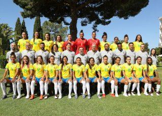 Seleção brasileira de futebol feminino. Foto: Assessoria CBF