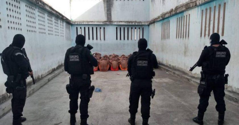 Presídio em Fortaleza. Foto: Reprodução