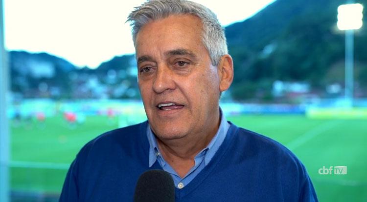 Mauro Naves. Foto: Reprodução/CBF TV