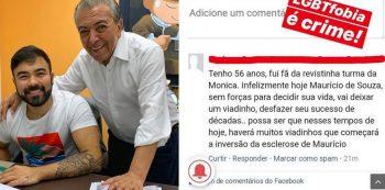 Filho de Mauricio de Sousa denuncia homofobia. Foto: Reprodução de Internet