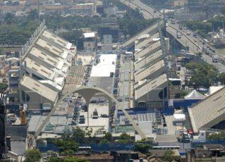 Vista geral do Sambódromo do Rio. Foto: Fernando Maia/Divulgação/Riotur