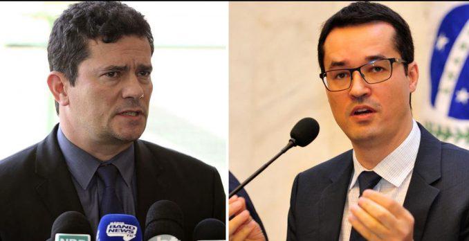 Sérgio Moro e Deltan Dallagnol. Foto: Reprodução de Internet