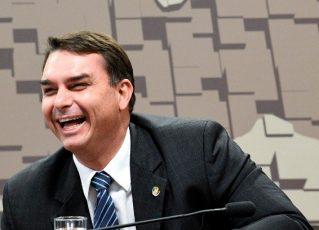 Flávio Bolsonaro. Foto: Agência Senado
