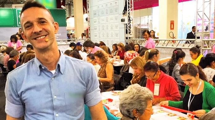 Marcelo Darghan dará cursos gratuitos em stand na Mega Artesanal   Foto Divulgação
