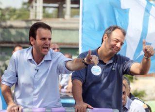 Eduardo Paes e Sérgio Cabral. Foto: Divulgação