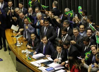 Plenário da Câmara dos Deputados aprova texto-base da reforma da Previdência. Foto: Fabio Rodrigues Pozzebom/Agência. Brasil
