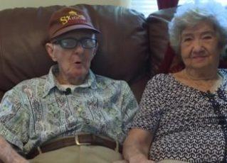Herbert e Marilyn. Foto: Reprodução de Internet