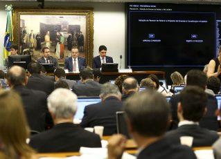 Sessão para votação do parecer do relator sobre a Reforma da Previdência. Foto: Marcelo Camargo/Agência Brasil