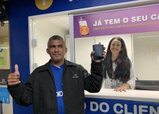 MetrôRio encontra porteiro que perdeu carteira com mais de R$ 2 mil na estação Pavuna. Foto: Divulgação/MetrôRio