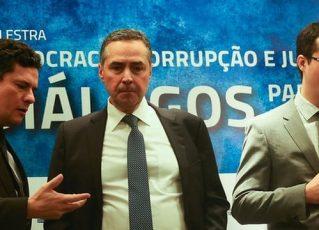 Em novo diálogo, Moro e Deltan falam de jantar com ministro Luís Roberto Barroso. Foto: : José Cruz/Agência Brasil