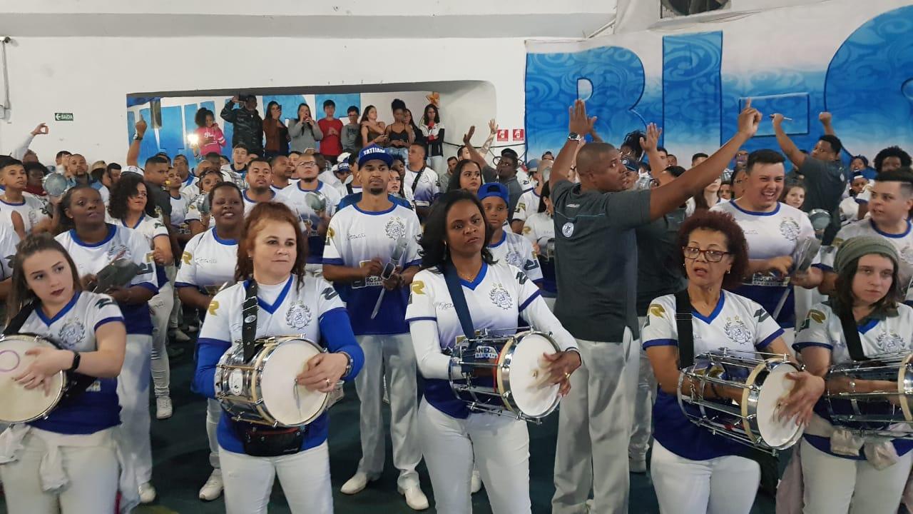 Lançamento do samba-enredo 2020 da Acadêmicos do Tatuapé. Foto: SRzd – Guilherme Queiroz
