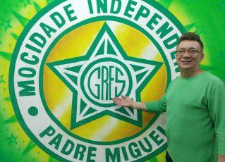 João Batista, coordenador de destaques da Mocidade. Foto: Divulgação