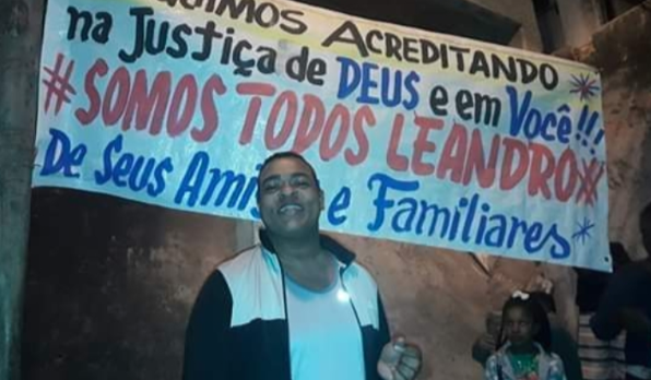 Leandro Santos. Foto: Reprodução/Facebook