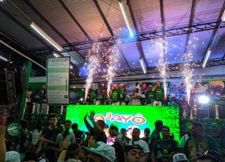 """Samba 7"" se apresenta na Camisa Verde e Branco. Foto: SRzd - Guilherme Queiroz"