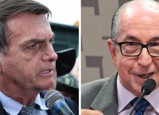 Jair Bolsonaro e Marcos Cintra. Foto: Reprodução