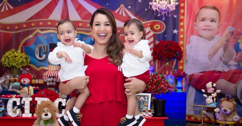 Luciana Krull e filhos. Foto: Reprodução de Internet