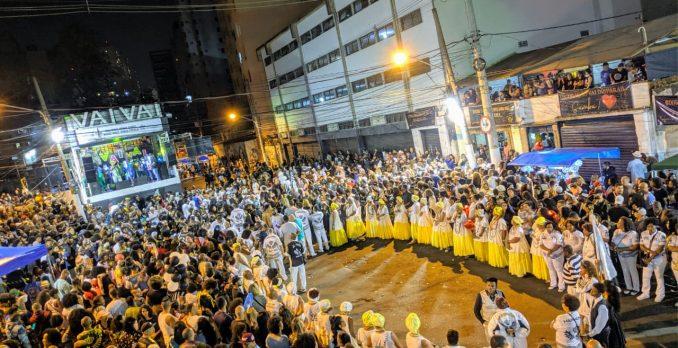 Vai-Vai faz final de samba. Foto: SRzd - Dante Baptista