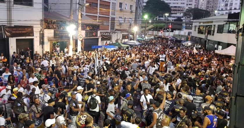 Final de samba-enredo da Vai-Vai. Foto: SRzd - Guilherme Queiroz
