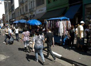 Comércio de rua. Foto: Arquivo/Agência Brasil