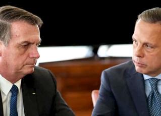 Jair Bolsonaro e Joao Doria. Foto: Reprodução de Internet