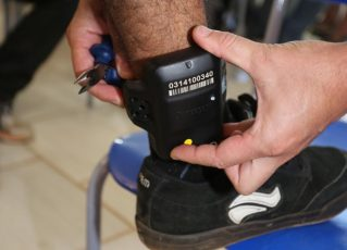 Tornozeleira Eletrônica. Foto: Divulgação