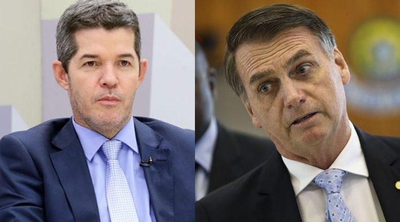 Delegado Waldir e Jair Bolsonaro. Foto: Montagem Luis Macedo/Câmara dos Deputados e Marcelo Camargo/Agência Brasil