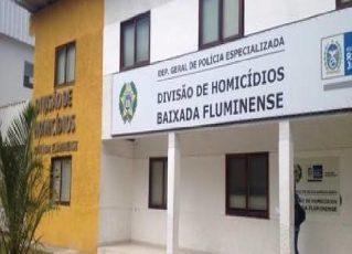 Delegacia de Homicídios da Baixada Fluminense. Foto: Divulgação